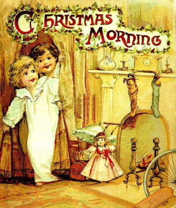 """A Christmas Morning"" is one of the best illustrated Christmas ebooks for kids"