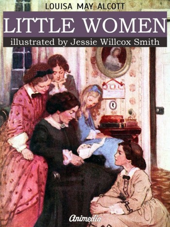 """Little Women"" is a novel by American author Louisa May Alcott"