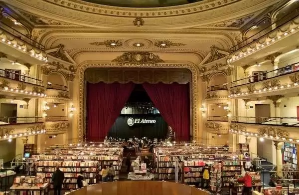 El Ateneo Grand Splendid Theater - необычный книжный магазин в здании бывшего театра