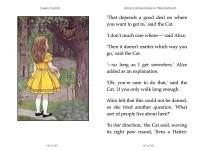 Carroll, Lewis: Alice's Adventures in Wonderland, 2015
