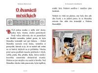 Němcová, Božena: O dvanácti měsíčkách. Elektronické vydání, design. Animedia Company, 2015