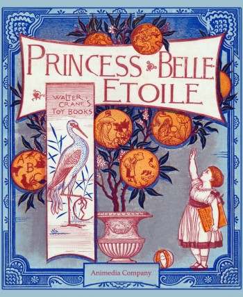 "The ""Animedia Company"" e-book of ""Princess Belle-Etoile"""
