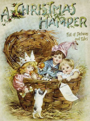 """""""A Christmas Hamper"""" is one of the best illustrated Christmas ebooks for kids"""
