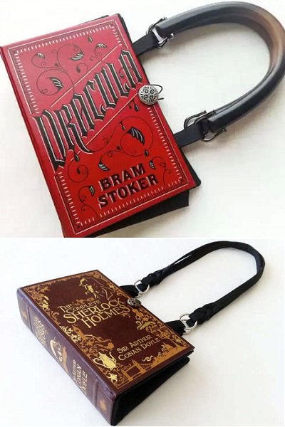 Дамские сумочки-'книжки' Book Purses от Karen H.