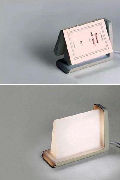 Лампа-книжная полка Book Sensitive Reading Lamp