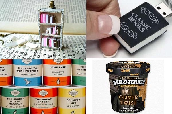 Идеи креативных подарков для тех, кто любит читать