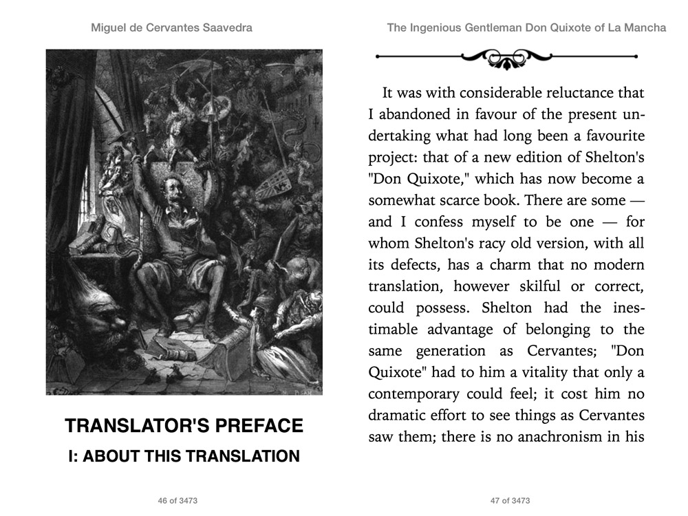 cervantes don quixote and st augustines confessions In fact, in some eternal order of books and readers, don quixote would have probably had its most agile and supple reader in st augustine, right around the the time he was writing the confessions.