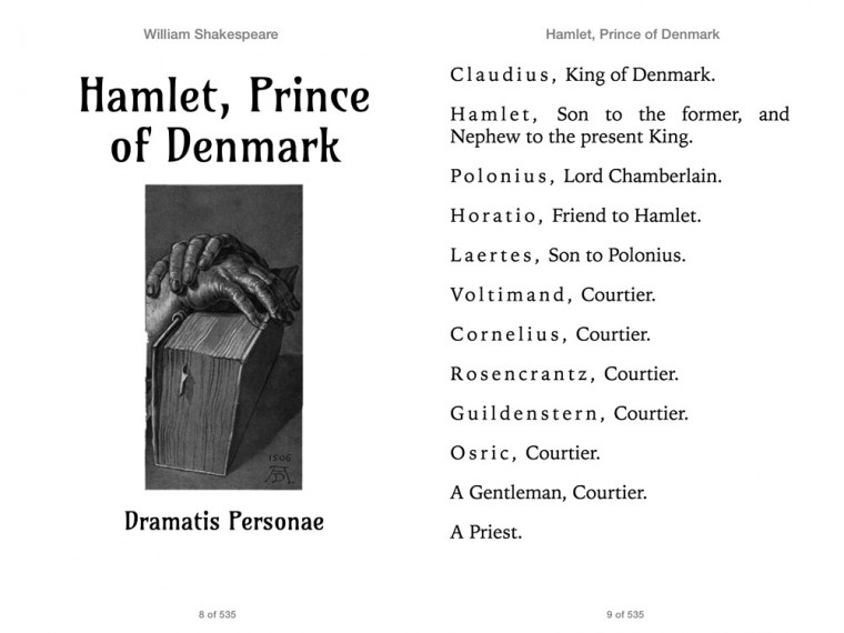 identifying prince of denmark as the protagonist in the play hamlet The tragedy of hamlet, prince of denmark by william shakespeare unlike other shakespearean protagonists, hamlet doesn't take action he is so concerned with finding out the truth, that he depict an event from the play that, if it happened differently, would have changed the entire play.