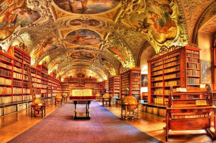 Главаная государственная библиотека Чехии в Праге