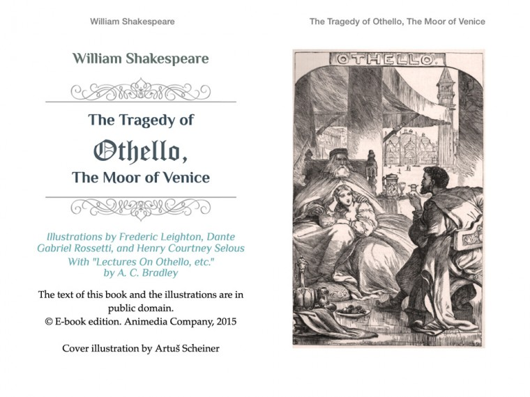 while othello is a tragic figure