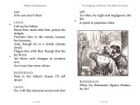 Shakespeare, William: The Tragedy of Othello, The Moor of Venice. Animedia Company, 2015