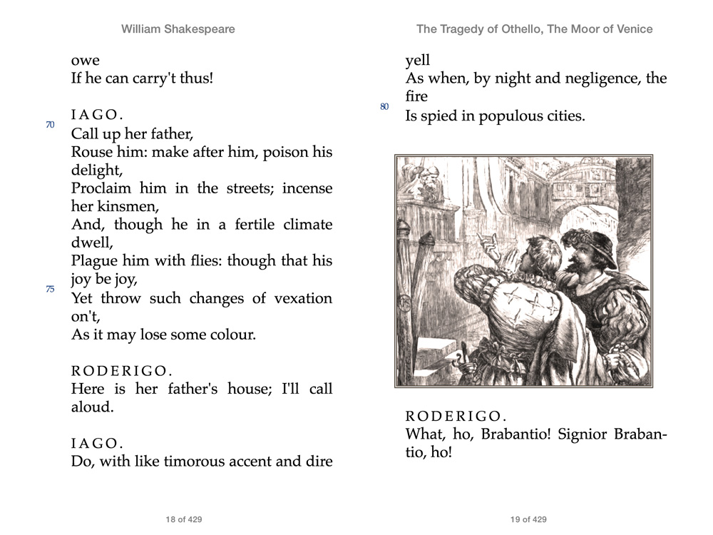 an analysis of the tragedy in othello by william shakespeare Need help with act 1, scene 1 in william shakespeare's othello check out our revolutionary side-by-side summary and analysis.