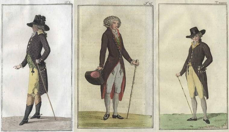 Иллюстрация из журнала Journal des Luxus und der Moden.