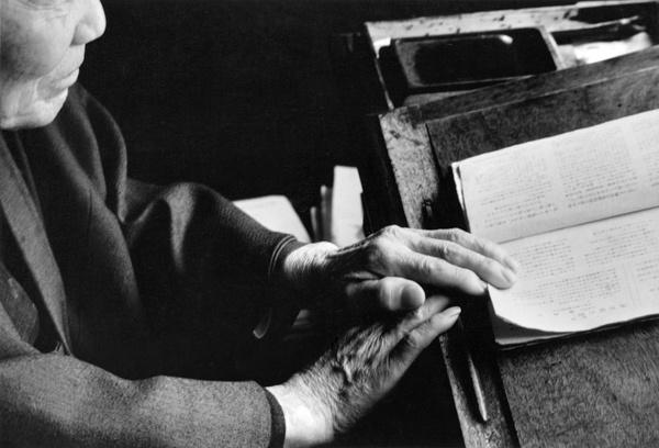 André Kertész Kyoto, Japan, 1968.