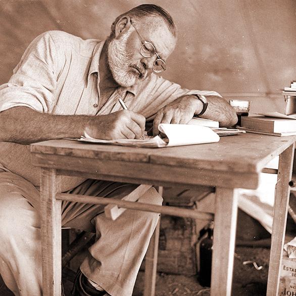 Хемингуэй, Брэдбери и Паустовский о том, как писать книги