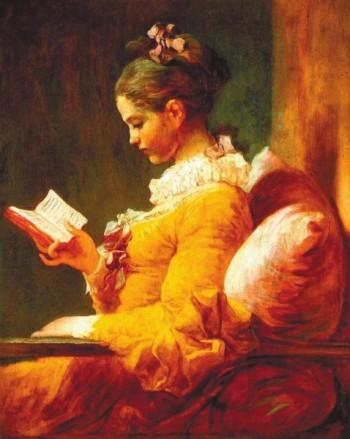 Фрагонар. Девушка за чтением (1776)