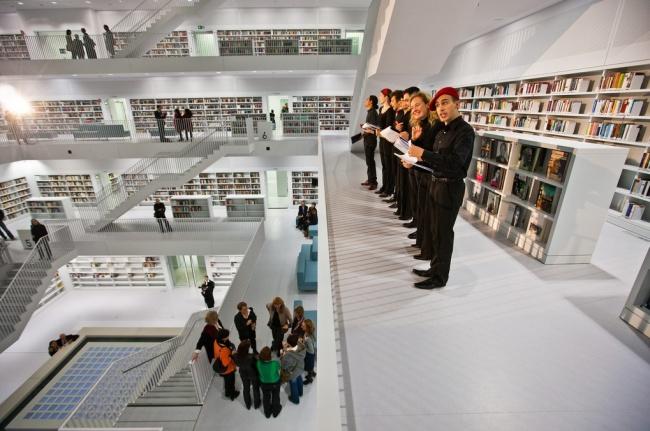 Как пройти в лучшую библиотеку Германии