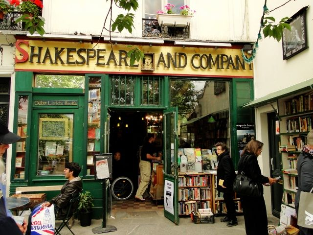 Shakespeare and Company, Париж, Франция
