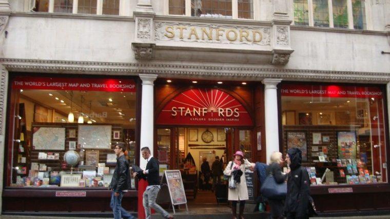 Stanfords, Лондон и Бристоль, Англия