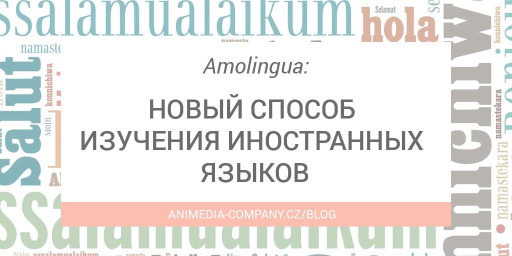 Amolingua: новый способ изучения иностранных языков