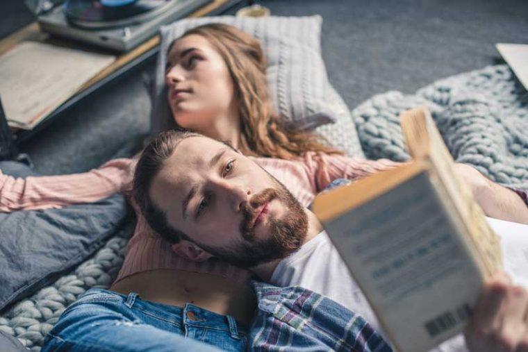Чтение погружает нас в атмосферу другого мира